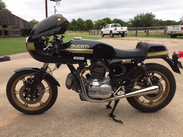 Featured Listing: 1979 Ducati 900SS
