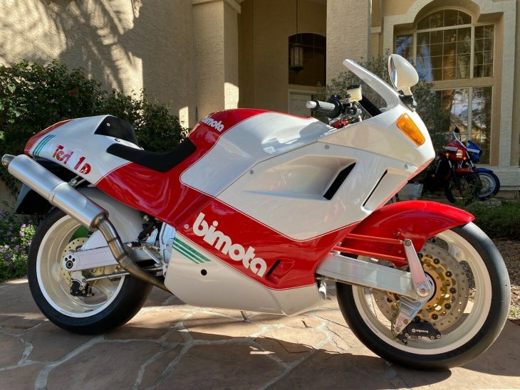 A fork in the road:  1992 Bimota Tesi 1D 904