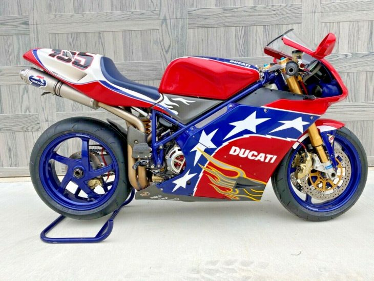 Star-spangled Duc: 2002 Ducati 998S Ben Bostrom Edition