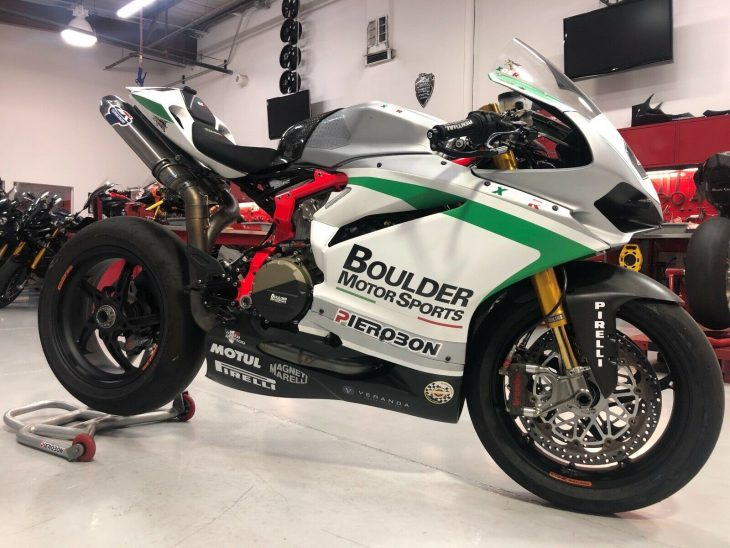 Premium Trackday Toy: 2018 Pierobon X85R Superbike for Sale