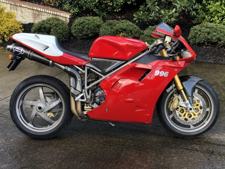 Featured Listing – 1999 Ducati 996 SPS with just 2,471 miles !