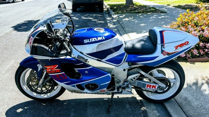 Tough Love – 1997 Suzuki GSX-R750