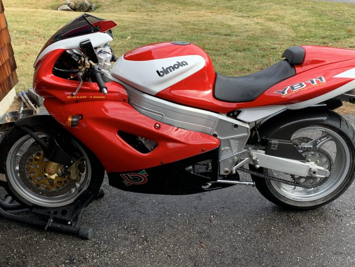 Featured Listing: Bimota YB11 Superleggera