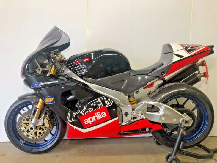 Road or Track: 2000 Aprilia RSV Mille R for Sale