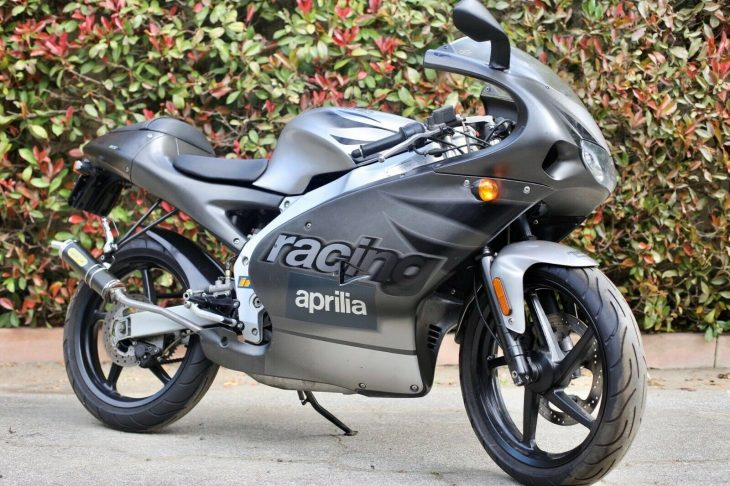 Pint-Sized 'Prilia: 2002 Aprilia RS50 for Sale