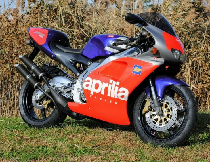 Pedi-greed is Good – 1996 Aprilia RS250 Reggiani Replica