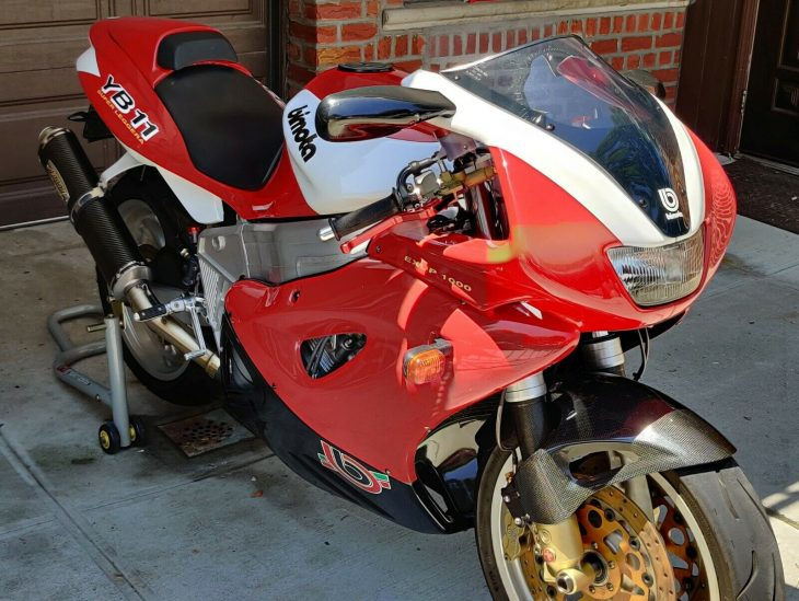 Brooklyn Charmer – 1997 Bimota YB11 Superleggera with 5,516 Miles !