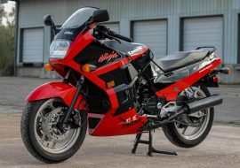 Featured Listing: 1989 Kawasaki Ninja GPX750R for Sale