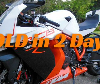 Time to Sell Your Rare SportBike?  Get a Featured Listing!