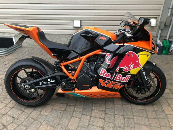 Gives You Wings: 2010 KTM RC8R Red Bull Edition for Sale
