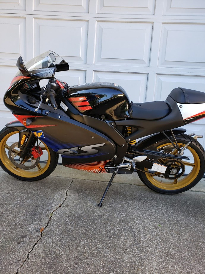 Featured Listing: 2005 Aprilia RS50