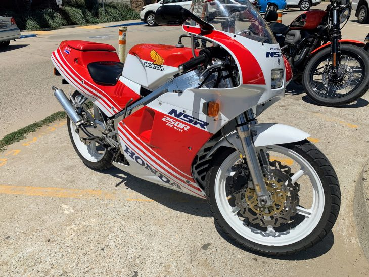 Featured Listing – 1988 Honda NSR250 / MC18 with CA Reg !