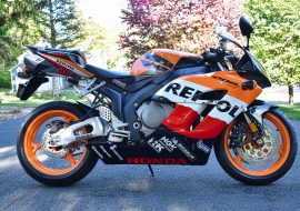 Featured Listing – Zero-Mile 2005 Honda CBR1000RR Repsol Edition !