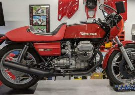Featured Listing – 1976 Moto Guzzi 850 LeMans with Under 2,000 Miles !