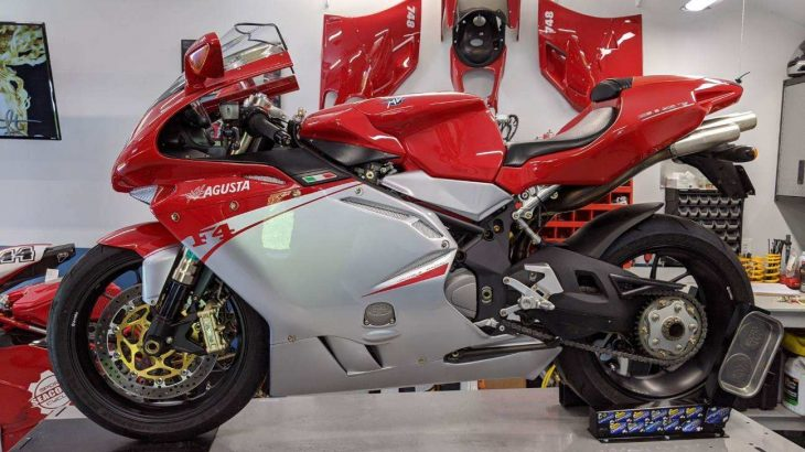 Featured Listing: 2008 MV Agusta F4 312R
