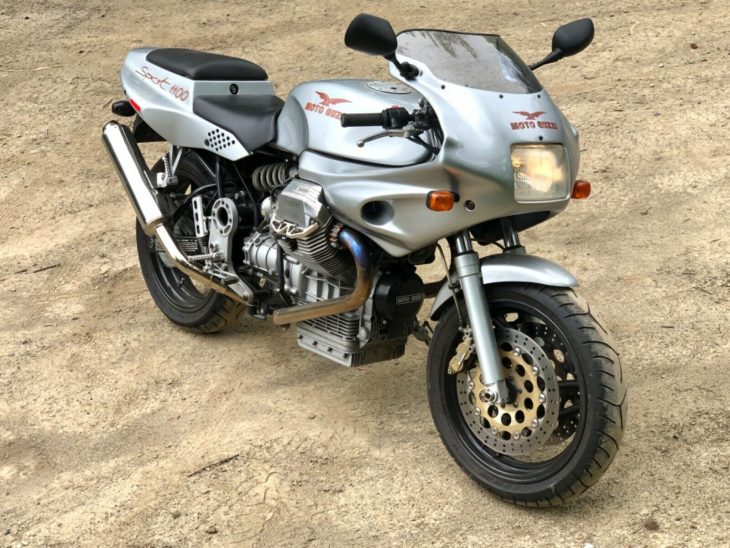 Not Low Carb – 1997 Moto Guzzi 1100 Sport