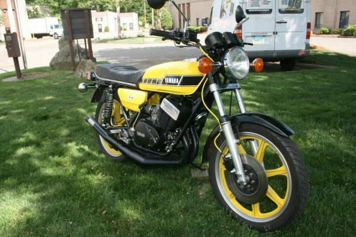 Can't Quit – 1977 Yamaha RD400
