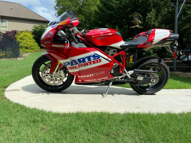 On the Dotted Line – 2007 Ducati 999S Team USA Edition