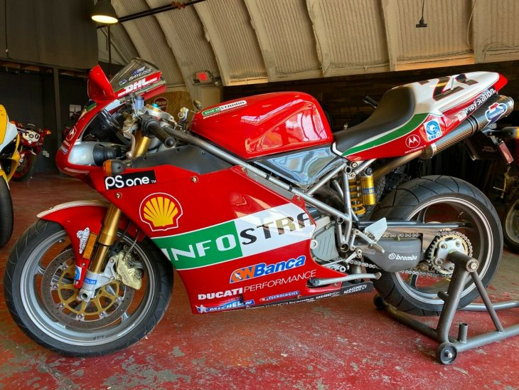 Non-Virtual – 2002 Ducati 998S Bayliss Edition #310 of 400