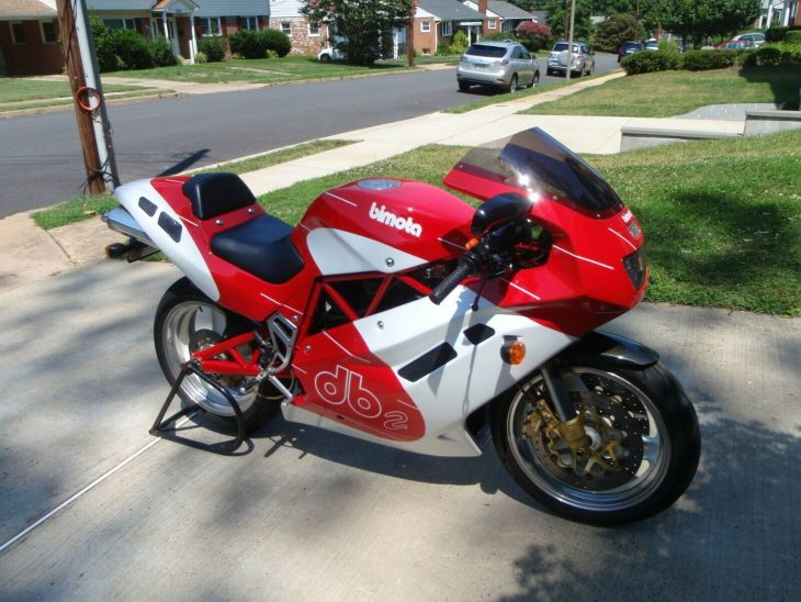 The Purist: 1993 Bimota DB2 for Sale