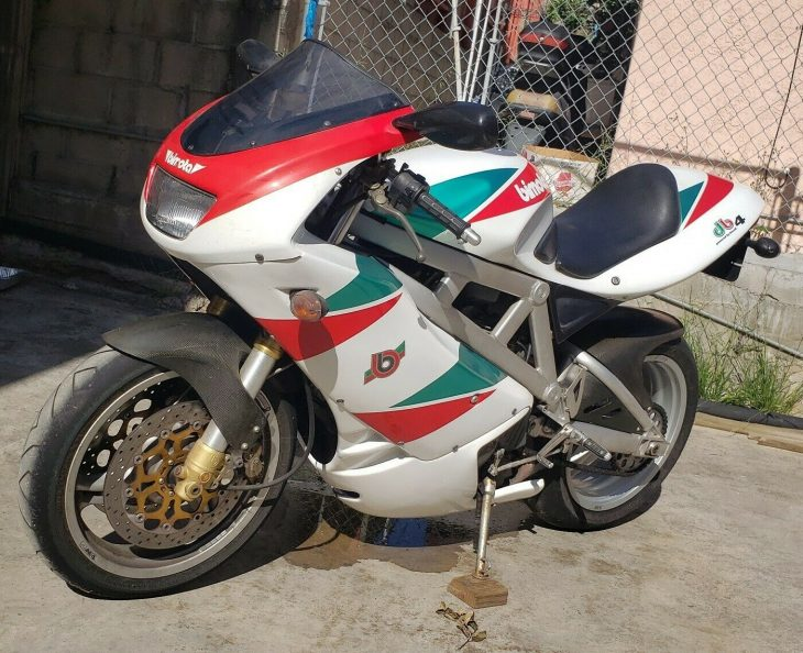 Dragon West – 1999 Bimota DB4 Tri-Colore