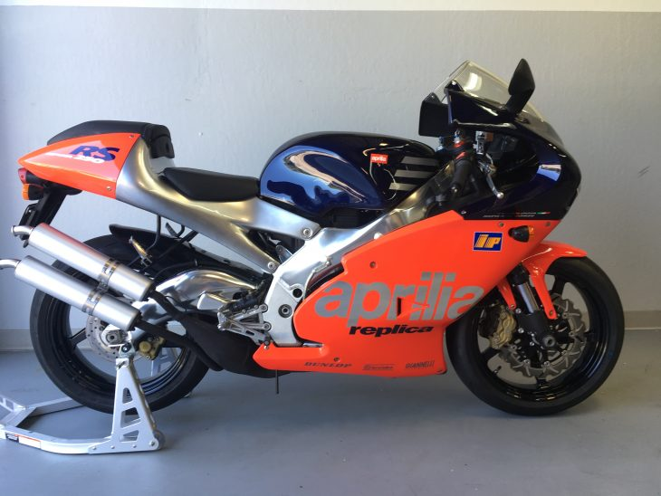 Featured Listing: 1998 Aprilia RS250 Rossi Edition