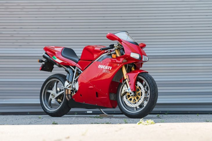 Red Hot Summer – 2004 Ducati 998S Final Edition