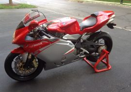 Featured Listing: No Reserve 2007 MV Agusta F4 1000R for Sale!