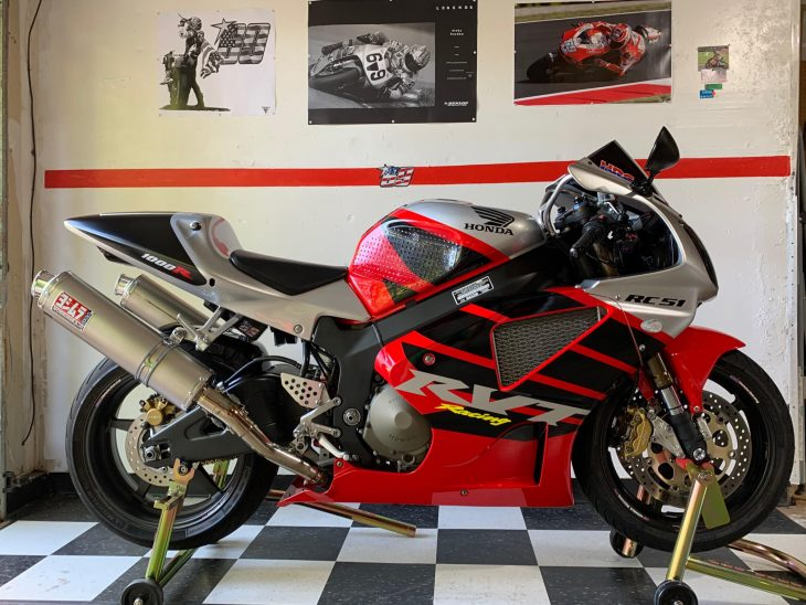 Featured Listing: Immaculate 2002 Honda RC51 SP2