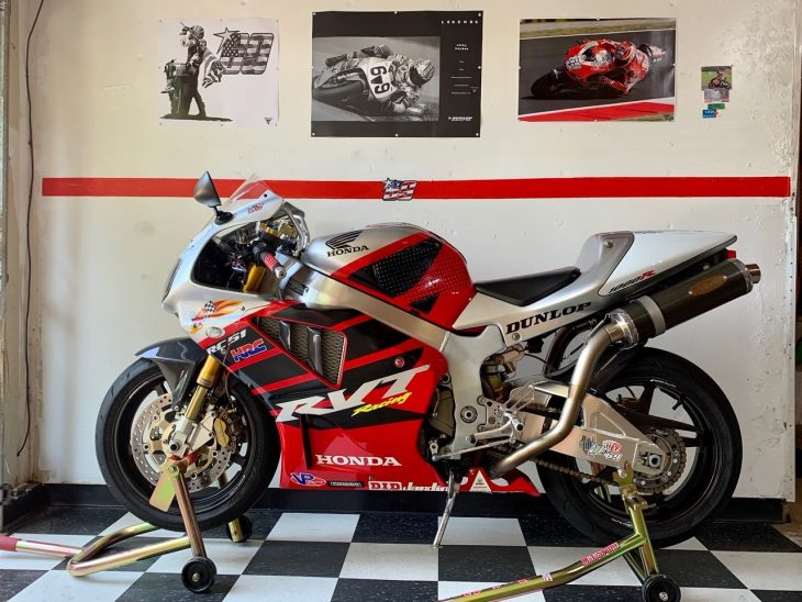 Featured Listing: 2004 Honda RC51 Nicky Hayden Edition for Sale