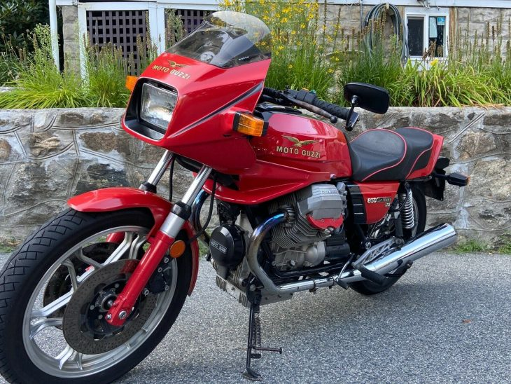 Red and Rare – 1983 Moto Guzzi Le Mans III