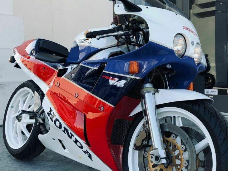 Come In For a Test Drive – 1987 Honda VFR-750R / RC30