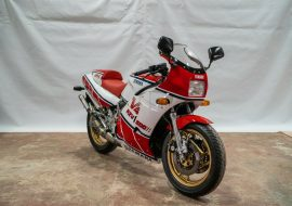 Featured Listing – 1986 Yamaha RZV500R with just 4,100 miles !