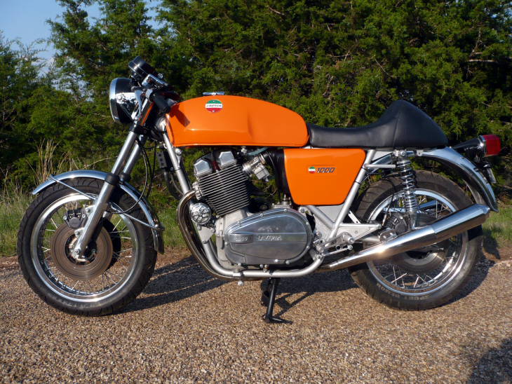 Bright Orange Breganze Beast: 1977 Laverda Jota for Sale