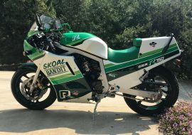Featured Listing: 1987 Suzuki GSXR-750 Skoal Bandit