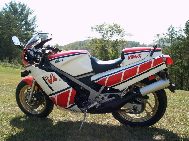 The Clean Side of Dirty: 1985 Yamaha RZ500