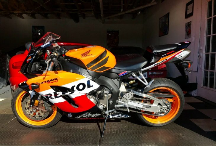 TLDNR – 2005 Honda CBR1000RR Repsol With Just 2,144 Miles !