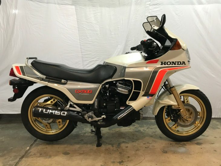Dig Out Your Legwarmers: 1982 Honda CX500 Turbo