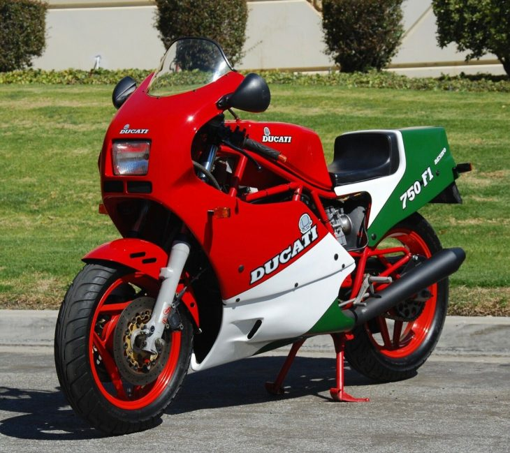Holiday Colors – 1986 Ducati 750 F1B