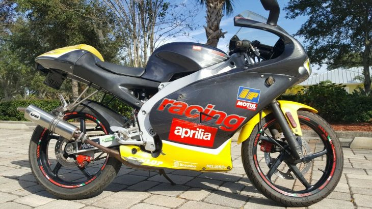 50 Shades of Smoke: 2000 Aprilia RS50