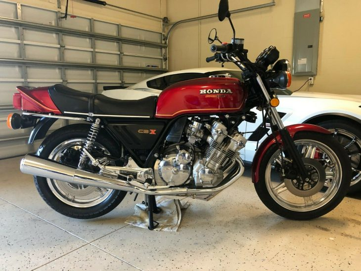 More Polishing Hours than Miles – 1979 Honda CBX