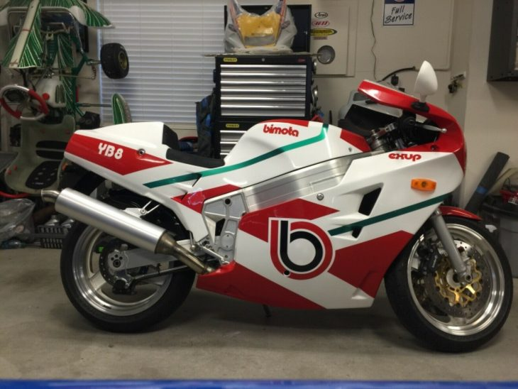 Why Be Anything Else? 1991 Bimota YB8