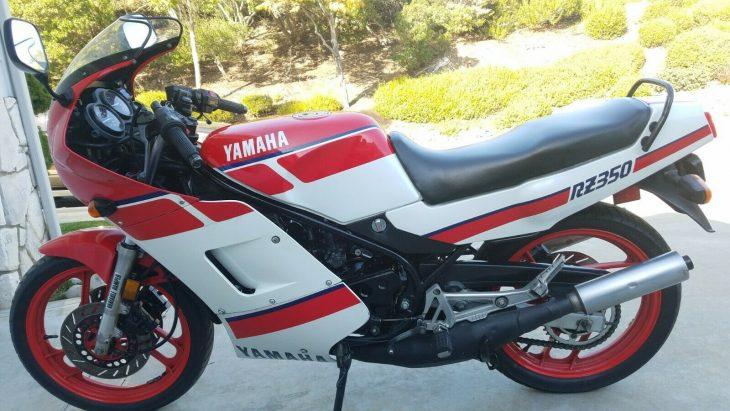 Out of Towner – 1986 Yamaha RZ350