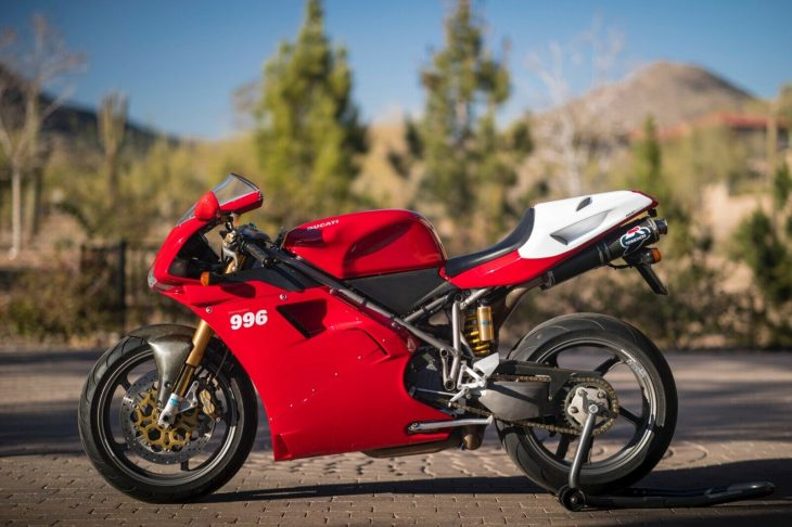Superbly Photographed Superbike: 2001 Ducati 996 SPS
