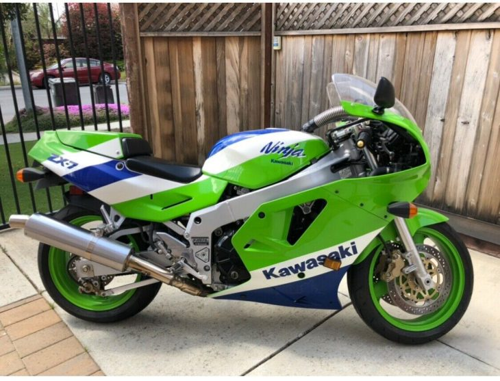 Poor Man's RC30: 1989 Kawasaki ZX750 H1