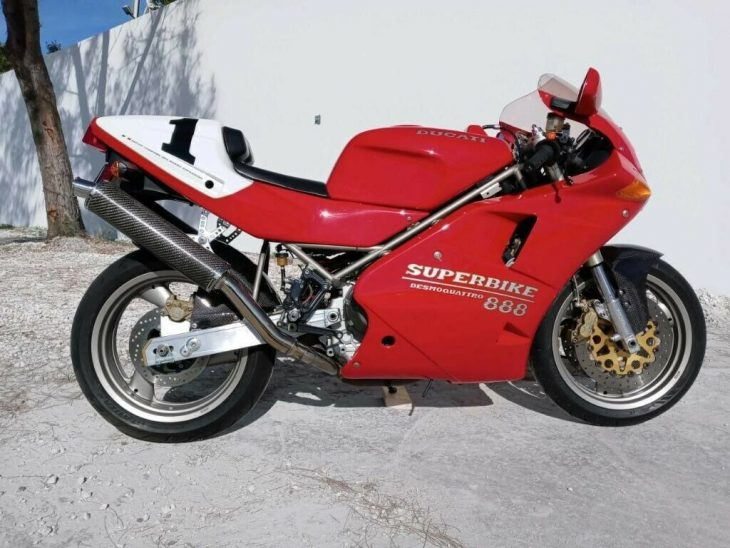 The First Desmoquattro: 1994 Ducati 888 SPO Limited #063 for Sale