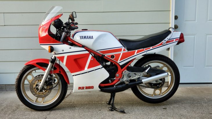 Legend: 1985 Yamaha RZ 350