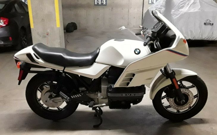 Flying Brick – 1987 BMW K100RS with just 21,536 Miles !