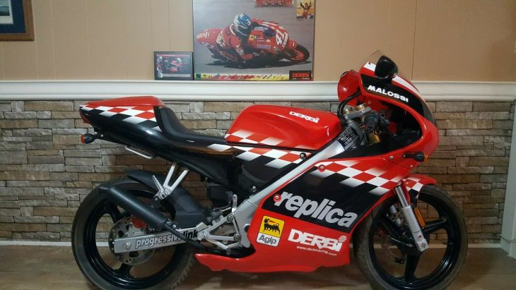 And Now For Something Completely Different: 2003 Derbi GPR