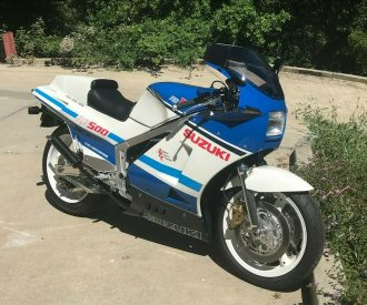 Featured Listing – 1986 Suzuki RG500 with CA plates!